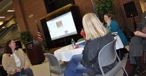 An informal discussion session at the Enid, Oklahoma, Vet Entrepreneur event. Photo by Laura Girty