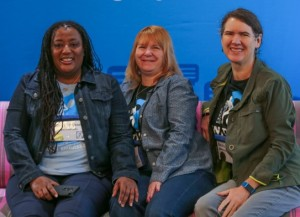 Cheryl Lawson, Gloria Bell, Becky McCray