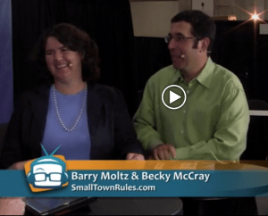 Becky McCray and Barry Moltz on GeekBeatTV
