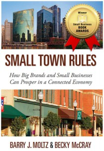 Small Town Rules Cover with award